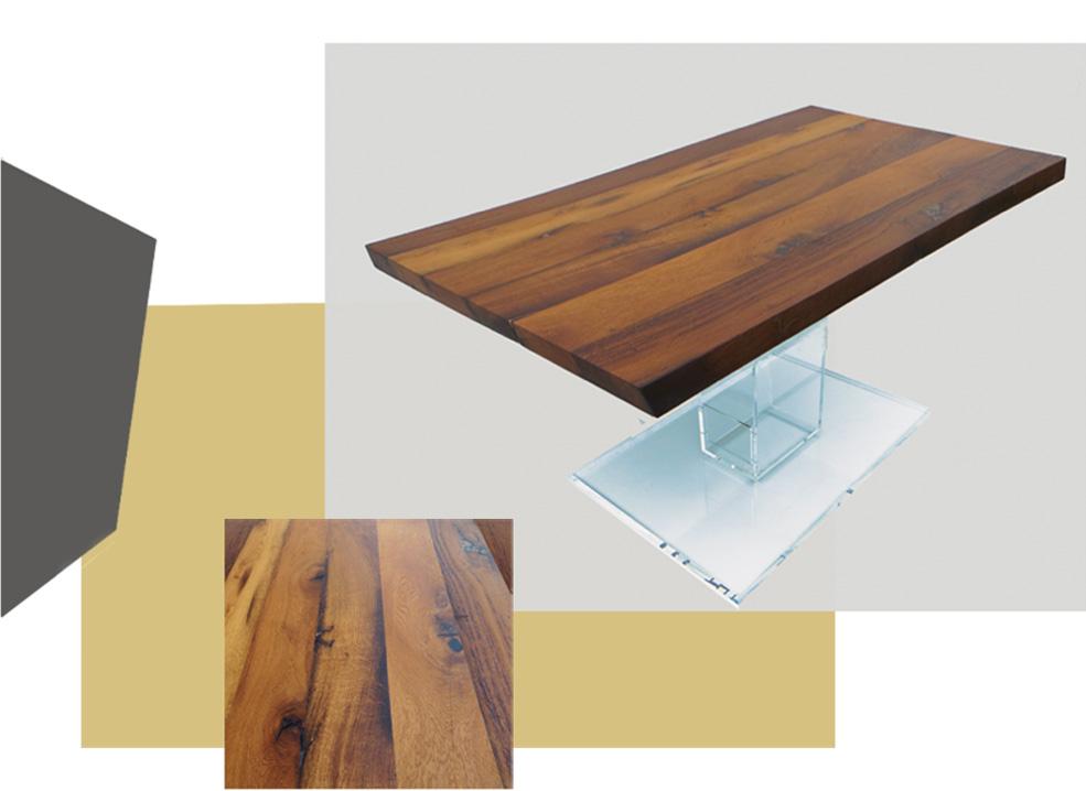 M bel Design Altholztisch von design Nora Gabriel